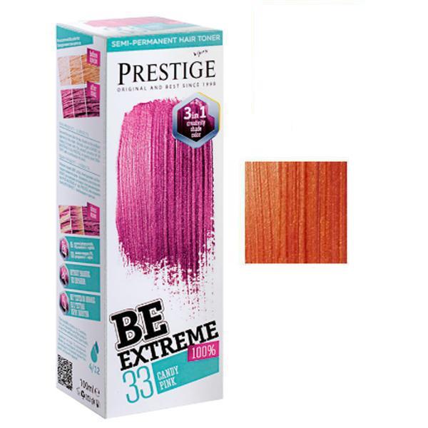 Vopsea de Par Semi-Permanenta Rosa Impex BeExtreme Prestige Vip's, nuanta BE69, 100 ml imagine produs