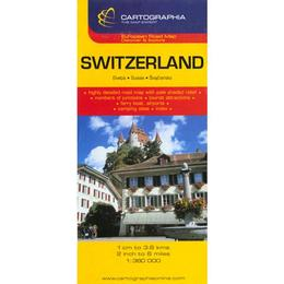 Elvetia - Switzerland, editura Cartographia