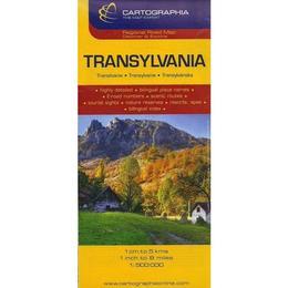 Transylvania - Erdely - Transilvania, editura Cartographia