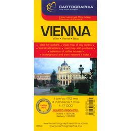 Harta Vienna, editura Cartographia
