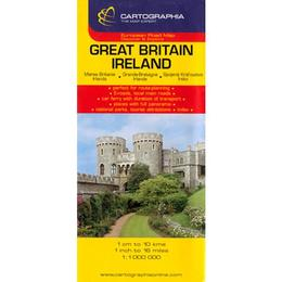 Great Britain, Ireland, editura Cartographia