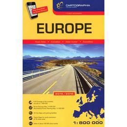 Atlas Rutier Europa (mare), editura Cartographia