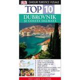 Top 10 - Dubrovnik si Coasta Dalmata ed.2 - Ghiduri turistice vizuale, editura Litera