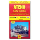 Atena - Harta turistica, editura Niculescu