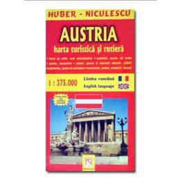 Austria - Harta turistica Si rutiera, editura Niculescu