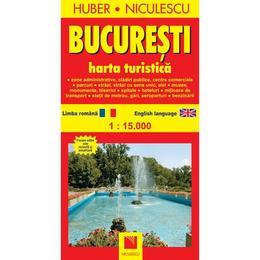 Bucuresti - Harta turistica, editura Niculescu