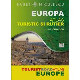Europa - Atlas Turistic Si Rutier, editura Niculescu