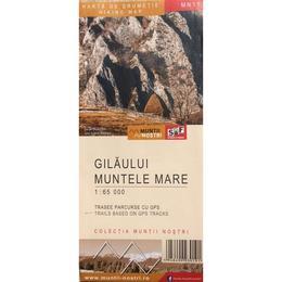 Gilaului. Muntele Mare - Harta de drumetie, editura Schubert & Franzke