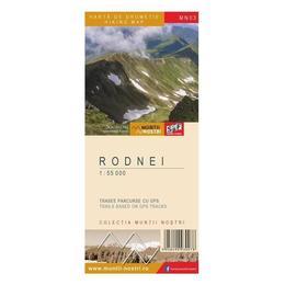 Rodnei - Harta de drumetie, editura Schubert & Franzke