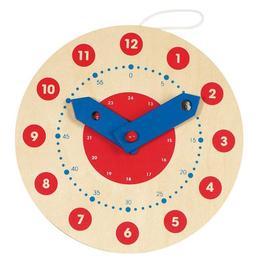 Ceas din lemn - Goki Ø 10 cm - Goki