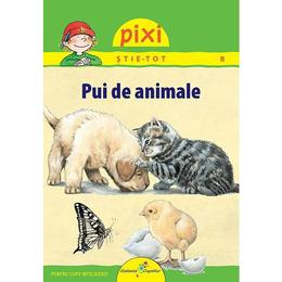Pixi stie-tot - Pui de animale - Hanna Sorensen, editura All