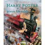 Harry potter si piatra filosofala - j.k. rowling, jim kay