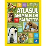 Atlasul Animalelor Salbatice - National Geographi Kids, editura Litera