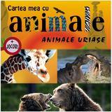 Animale uriase - Cartea mea cu animale + jocuri, editura Prut