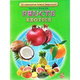 Fructe exotice - Cartonase - Silvia Ursache, editura Silvius Libris