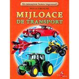 Mijloace de transport - Cartonase - Silvia Ursache, editura Silvius Libris