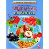 Fructe de padure - Cartonase - Silvia Ursache, editura Silvius Libris