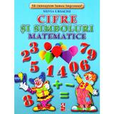 Cifre si simboluri matematice - Cartonase - Silvia Ursache, editura Silvius Libris