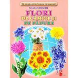Flori de campie si de padure - Cartonase - Silvia Ursache, editura Silvius Libris