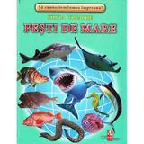 Pesti de mare - Cartonase - Silvia Ursache, editura Silvius Libris