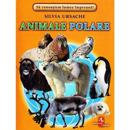 Animale polare - Cartonase - Silvia Ursache, editura Silvius Libris