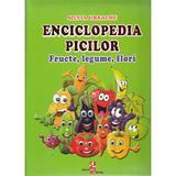 Enciclopedia picilor: Fructe, legume, flori - Silvia Ursache, editura Silvius Libris
