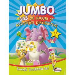 Jumbo: 365 de jocuri si activitati distractive 6 ani+, editura Aramis