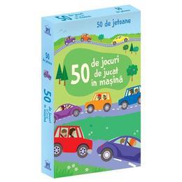 50 de Jocuri de jucat in Masina, editura Didactica Publishing House