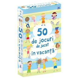 50 de Jocuri de jucat in Vacanta, editura Didactica Publishing House