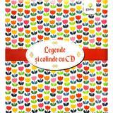 Pachet Craciun CD2: Legende romanesti cu CD + Cartea cu colinde cu CD, editura Gama
