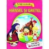 Hansel si Gretel (Povesti cu puzzle), editura Aramis