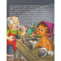 Aventurile lui Pinocchio (Povesti cu puzzle), editura Aramis