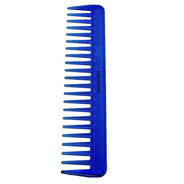 Pieptene albastru cu dinti lati, Koh-I-Noor, 7132B imagine produs