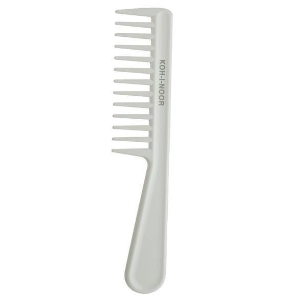 Pieptene alb, TODAY, cu maner, dinti lati, Koh-I-Noor, 8130V imagine produs