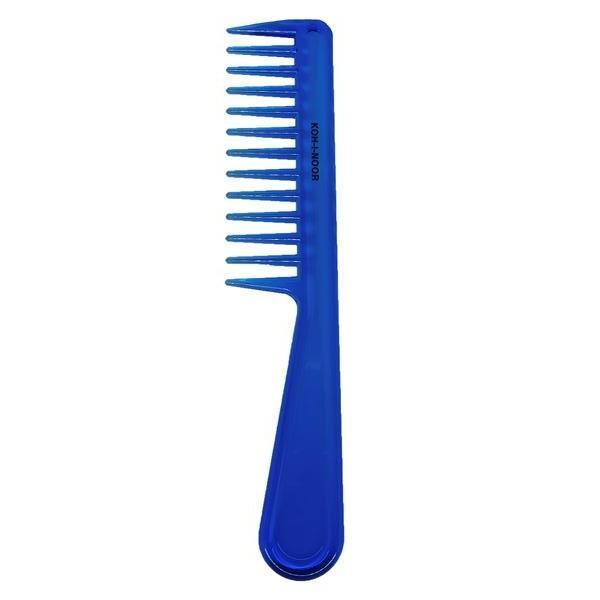 Pieptene albastru cu maner si dinti lati, Koh-I-Noor, 7130B imagine produs