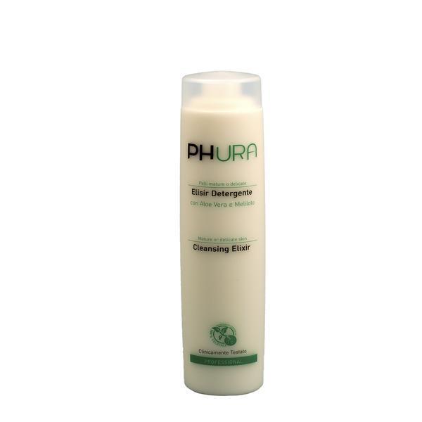 Elixir curatare ten delicat sau matur cu aloe vera si sulfina galbena, Phura, 300 ml poza