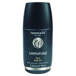 Deodorant Roll On Camouflage, pentru barbati, 75 ml, Herbacin