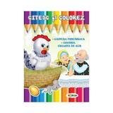 Citesc si colorez: Gainusa Porumbaca, editura Dorinta