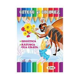 Citesc si colorez: Degetica, editura Dorinta