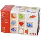Joc de memorie Texturile - Goki
