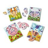 Set 4 puzzle Animale domestice - Melissa & Doug