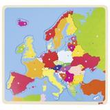 Puzzle din lemn Harta Europei