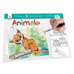 Primele mele picturi: Animale, editura Gama