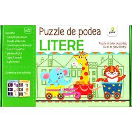Puzzle de podea: Litere, editura Gama