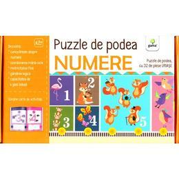 Puzzle de podea: Numere, editura Gama