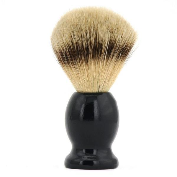 Pamatuf barbierit din par de bursuc, Organique esteto.ro
