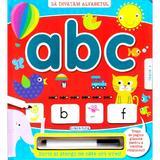 Sa invatam alfabetul: ABC - Scrii si stergi, editura Girasol