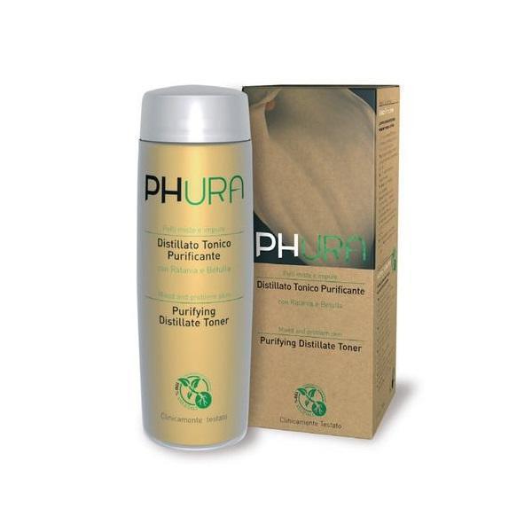 Lotiune tonica ten mixt si cu probleme acneice , cu ratan si mesteacan, Phura, 200 ml