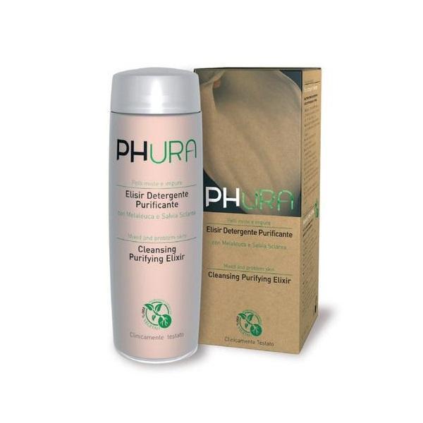 Elixir purifiant curatare ten mixt, cu melaleuca si salvie sclarea, Phura, 200 ml