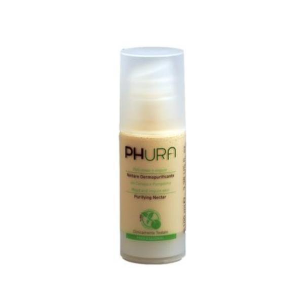 Serum Nectar dermopurifiant, ten mixt si impur, cu canepa si grepfruit, Phura, 100 ml